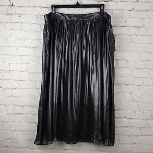 New Worthington Metallic Shimmer Skirt 16